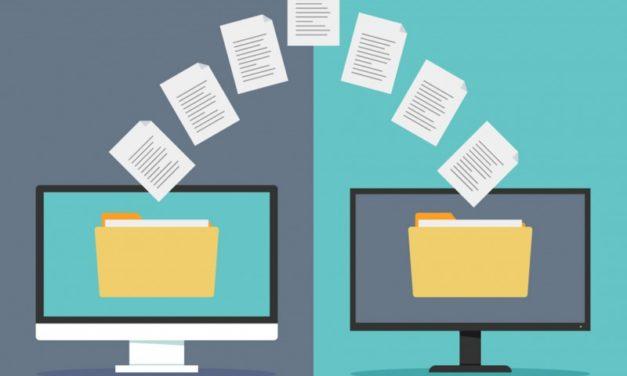 Como transferir arquivos pesados pela internet