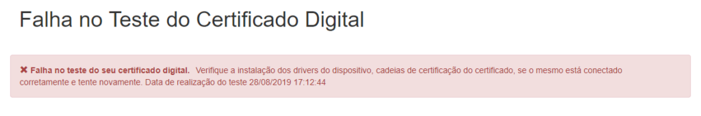 testando certificado digital