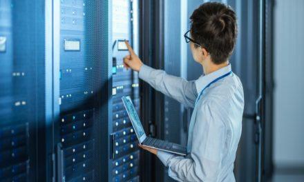 Um servidor com desligamento incorreto não é um bom sinal