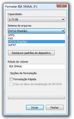como formatar pendrive pen drive no windows