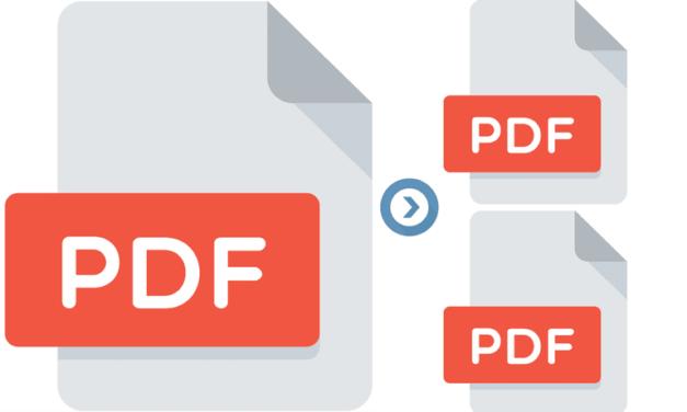 Como dividir um arquivo PDF