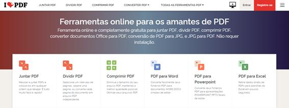 como agrupar arquivos pdf