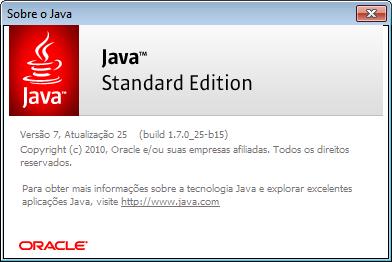 Como verificar a versão do Java