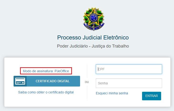 Corrigindo o erro: Não foi possível verificar o código de segurança no PJeOffice