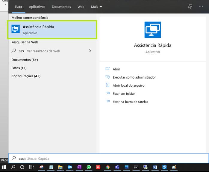 Assistência Rápida do Windows - O que é e como usar