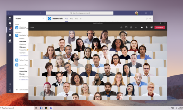 Como Ativar o Modo Juntos (Together Mode) no Microsoft Teams
