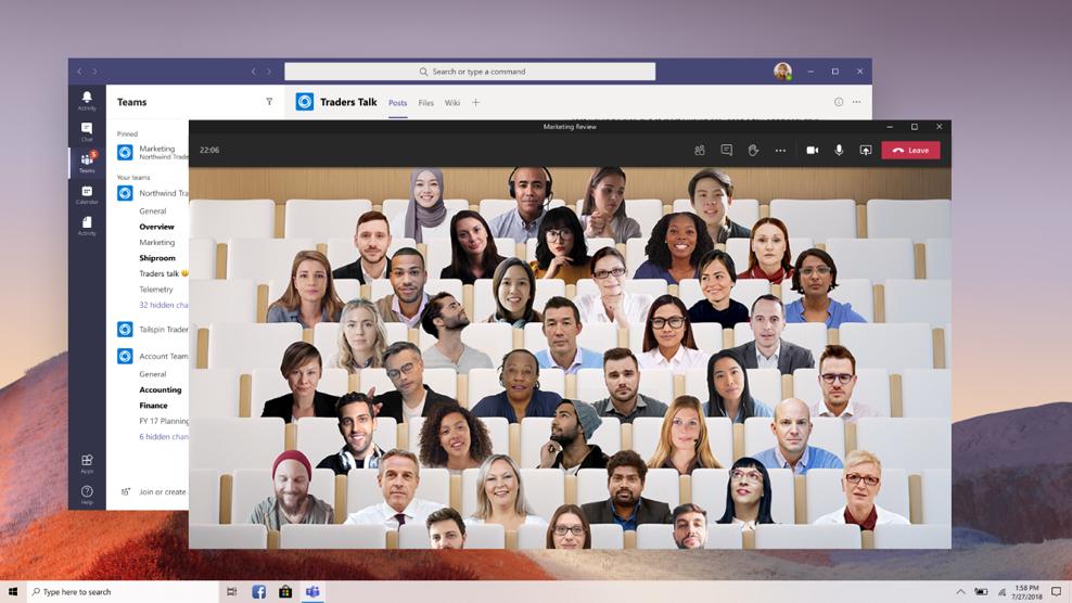 Como Ativar o Modo Juntos (Together Mode) no Microsoft Teams