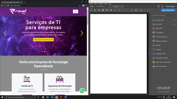 dividir a tela Windows 10
