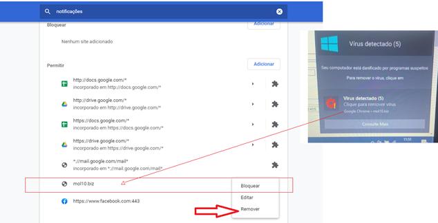 Como remover anúncios indesejados do Google Chrome