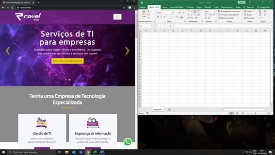 Como Dividir a Tela no Windows 10