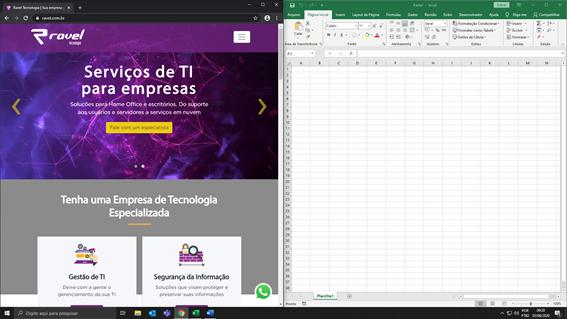 Tela dividida - Windows 10