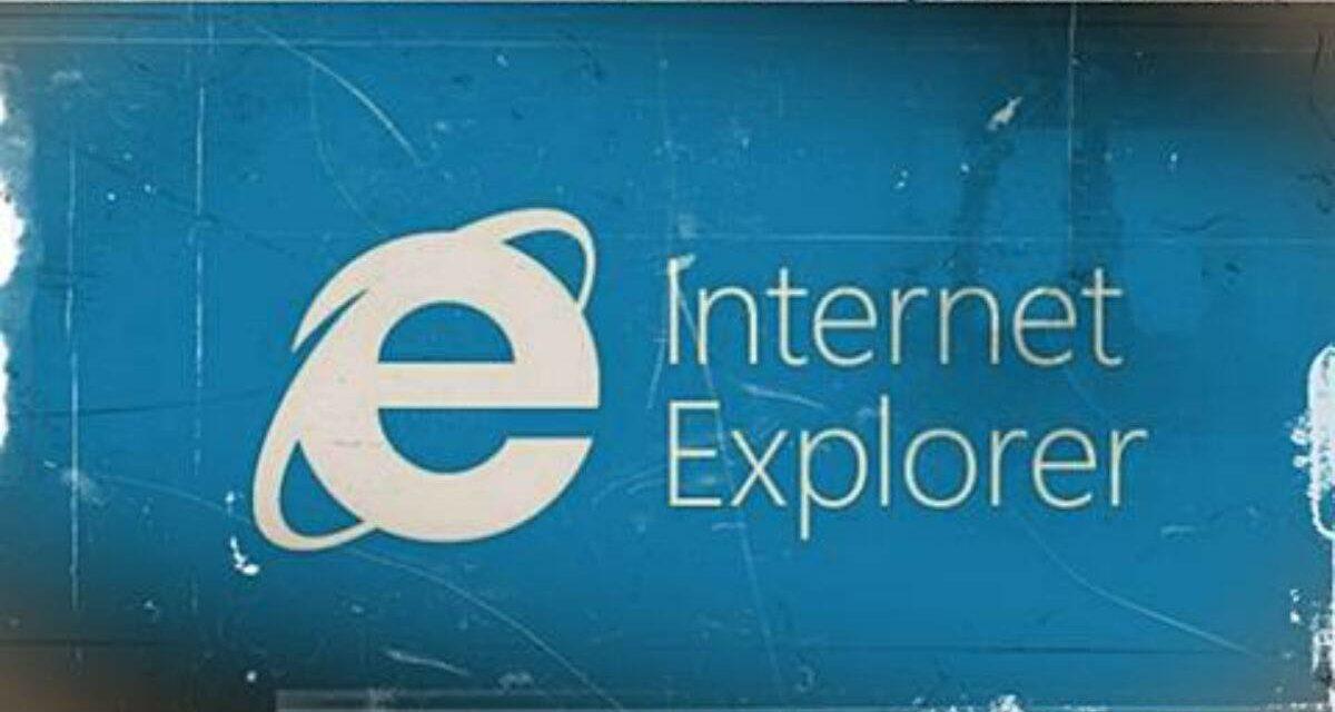 Microsoft encerra o suporte com o Internet Explorer