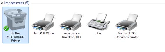 impressora padrão no Windows