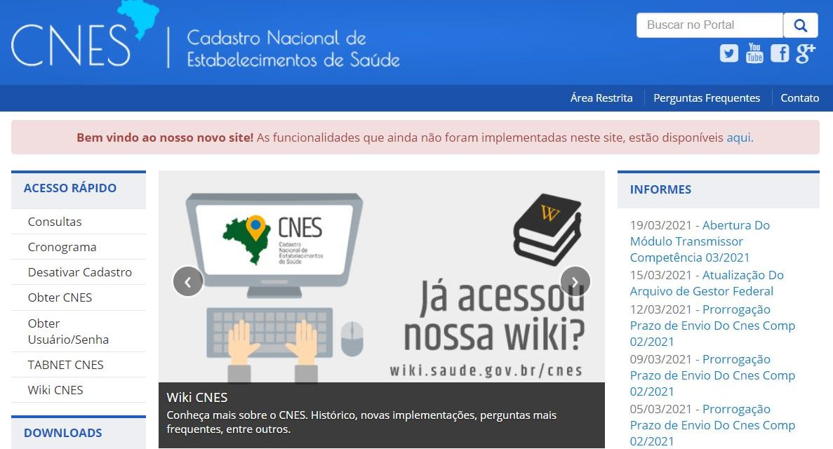 Como instalar o programa CNES no Windows