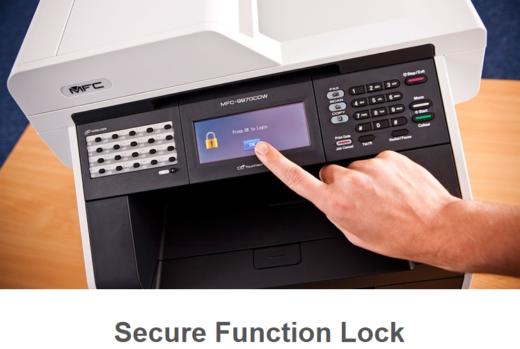 Como configurar o Secure Fuction lock 3.0