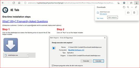 configurar o conectividade social no Microsoft Edge