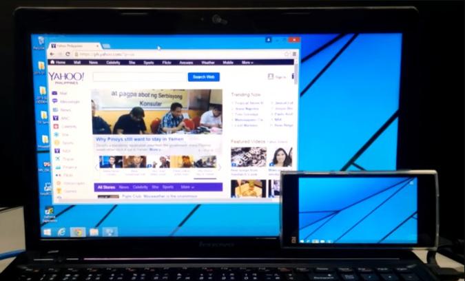 Como usar um tablet ou celular como monitor secundário no Windows 10