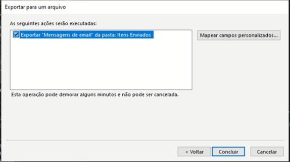 como exportar contatos do Outlook: